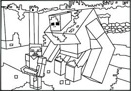 minecraft coloring sheet minecraft coloring pages zombie pigman coloring sheet remarkable free