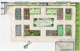 garden layout plans. Raised Bed Garden Layout Plans | Plan Showing The Location Of Vegetable N