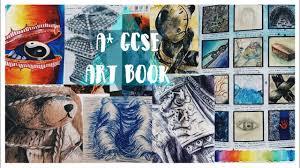 a gcse art book full marks yr 10