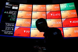 Idx Stock Chart Indonesia Stocks Lower At Close Of Trade Idx Composite