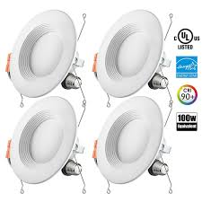 Lumens Lighting Promo Code Otronics 4 Pack 5 6 Inch Dimmable 15w 1100 Lumens Led
