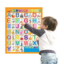 2pcs Kids Learning Toys Number Alphabet Interact Wall