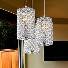awesome crystal pendant lighting ideas