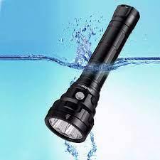 DL40 5000lm Mạnh Đèn Pin Lặn LED Dưới Nước IPX8 Đèn Pin Chống Nước Di Động  Lặn Biển Đèn Lặn|Đèn Flash & Đèn Pin