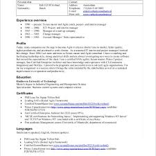 Neoteric Agile Resume 12 Sample Scrum Master Resume - Resume Example