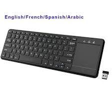 <b>Touchpad Wireless</b> Keyboard <b>2.4Ghz</b> For Windows PC Laptop ...