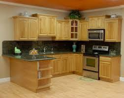 oak wood cabinets