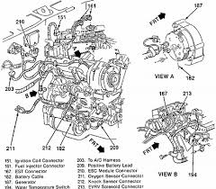 1987 chevy s10 how many coolant temperature sensor located graphic