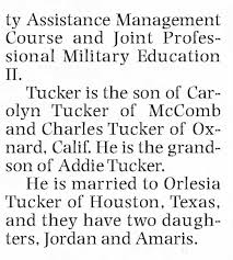 Lt. Col. Andre Tucker-page 2 - Newspapers.com