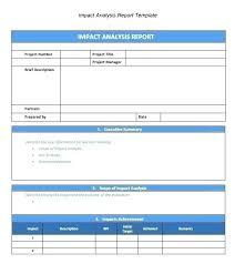 Gap Analysis Report Template Luxury Training Analysis Report