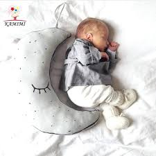 moon and stars baby bedding baby pillow toddler moon stars sleep pillow baby bed toy cute moon and stars baby bedding