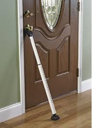 sliding door security bar. New Dual-function 1.5-in White Steel Door Security Bar Vertical Rod Exit Device Sliding T