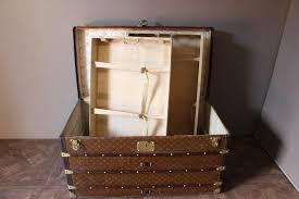Steamer Trunk Furniture Vintage Stenciled Monogramm Steamer Trunk From Louis Vuitton For