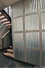 corrugated steel wall panels metal for interior walls panel revit