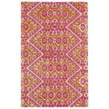 global inspiration pink 8 ft x 10 ft area rug