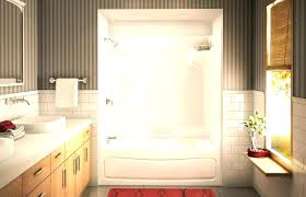 one piece tub and shower unit one piece bathroom shower one piece tub shower units home