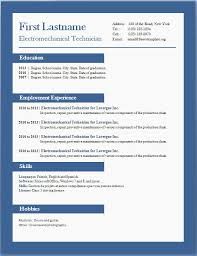 Wordpad Resume Template Resume Templates For Word Pad Resume Example