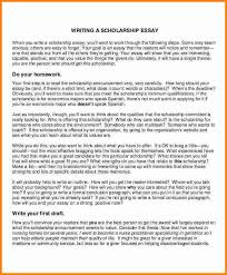 scholarship essay writing sample of scholarship essay writing essays 5 checklist lektire us