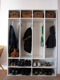 Shoe Rack And Coat Hanger White Homemade Mudroom With Shoe Rack Storage And Hanging Coat Hooks 28