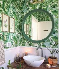 Alfresco Green Palm Leaf Wallpaper ...