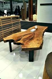 diy log coffee table home designs