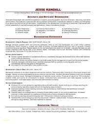 Bookkeeping Resume Samples Luxury Bookkeeping Resume Sample Bookkeeping Resume Sample Elegant 4