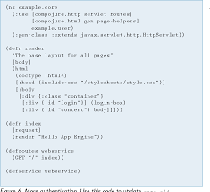 Figure 6 from Getting Started with Google App Engine and Clojure ...