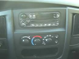 how to dodge ram pick up car stereo radio cd tape removal repair 2001 Dodge Ram 1500 Radio Wiring Harness how to dodge ram pick up car stereo radio cd tape removal repair replace infinity 2001 dodge ram 1500 radio wiring harness