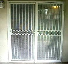 patio door security gates lovely doors or stunning sliding pictures concept bar