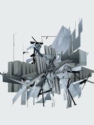 deconstructive architecture. Ryanpanos: \u201c Extracts Of Local Distances Digital Scans Analogue Architectural Photography Form Tiny Pieces A Large Resulting Puzzle. Deconstructive Architecture 6