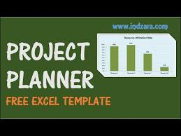 Sample Project Plan Excel Project Planner Excel Template Free Project Plan Template For
