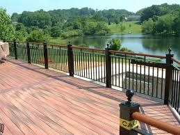 Metal deck railing ideas Stainless Metal Deck Railing Ideas Wood Pictures And Vs Soniahaleco Wood And Metal Deck Railing Soniahaleco