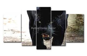 3 piece black white wall art painting openmouthed black on black panther animal wall art with black panther wall art elitflat