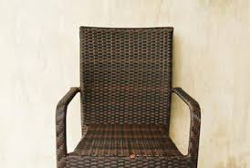 How to Fix Faux Wicker Patio Furniture Home Guides SF Gate