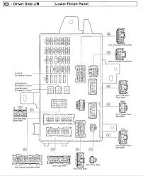 2003 camry fuse box diagram under dash