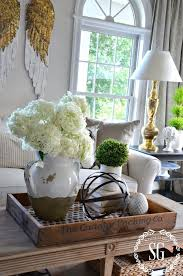 tips for how to decorate a coffee table
