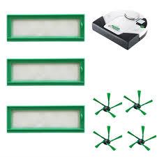 <b>3 Filters 4 Side</b> Brushes Vacuum Cleaner Home Tool For Vorwerk ...