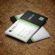 business card psd template green business card psd template template free download on pngtree