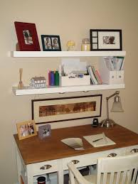Home office wall shelving Detachable Wall Our Home Office One Made Intended For Floating Shelves Ideas Birtan Sogutma Our Home Office One Made Intended For Floating Shelves Ideas