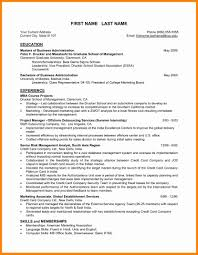 Best Resume Format For Mba Freshers Inspirational Samples Hr Resum