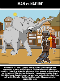 shooting an elephant literary conflict for this activity have  examine dilemma internal conflict in george orwell shooting an elephant analysis lesson plans activities include shooting an elephant summary theme