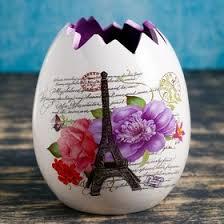 """<b>Кашпо керамическое</b> """"Париж"""" 12*12*13 см (4528635) - Купить по ..."""