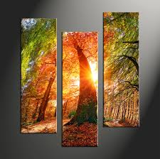 home decor 3 piece canvas art prints nature artwork scenery large canvas  on large 3 panel wall art with triptych red scenery sunrise multi panel canvas