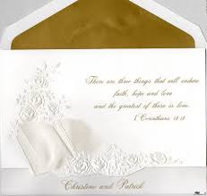Wedding Invitation Quotes Bible