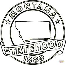 Small Picture Montana State coloring page Free Printable Coloring Pages