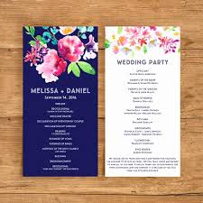catholic wedding program template free fresh modern wedding program templates best programs wording ideas of