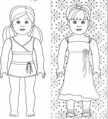 40free Coloring Pages Dolls Washington County