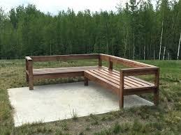 outdoor wooden sofa outdoor wood sofa plans