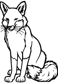 Small Picture Drawing Kit Fox Coloring Pages Download Print Online Coloring
