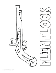 Printable Gun Coloring Pages Betterfor